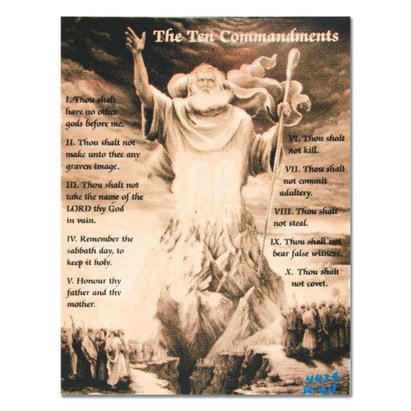 """Ten Commandments by """"Ringo"""" Daniel Funes"""