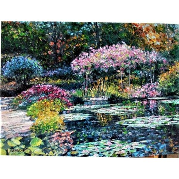 "Howard Behrens ""GIVERNY LILY POND (from THE ""TRIBUTE TO MONET"" COLLECTION)"""