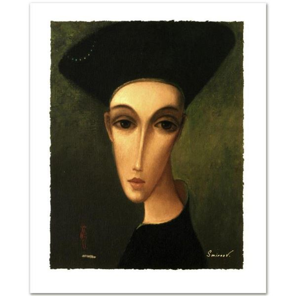 "Sergey Smirnov (1953-2006), ""The Duke"" Limited Edition Mixed Media on Canvas, Nu"