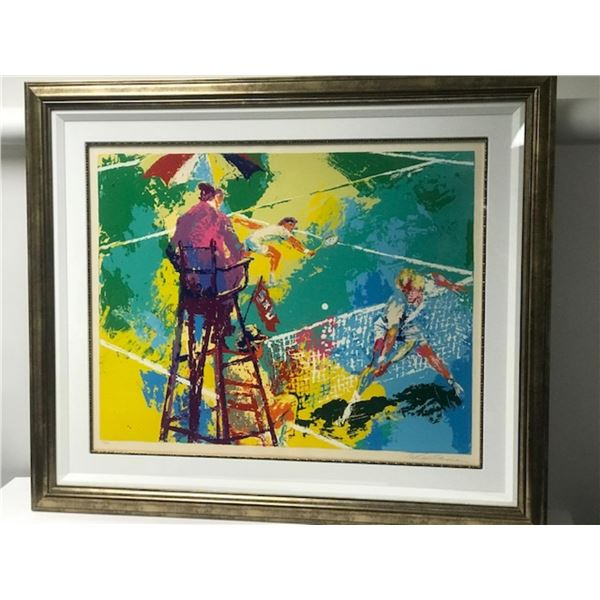 Sudden Death by LeRoy Neiman (1921-2012)
