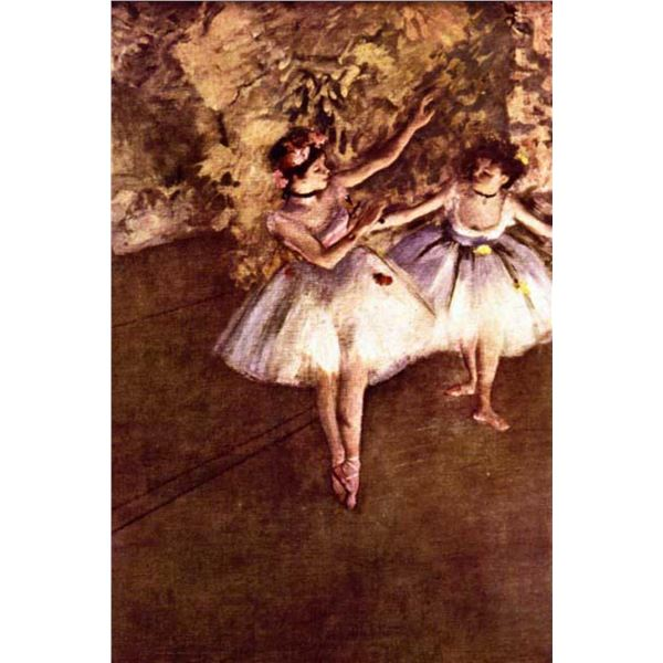Edgar Degas - Young Dancers