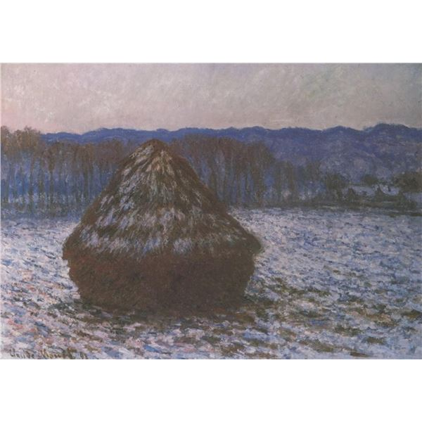 Claude Monet - Haystacks [2]