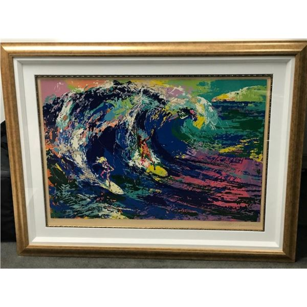 Surfers 1995 by LeRoy Neiman (1921-2012)