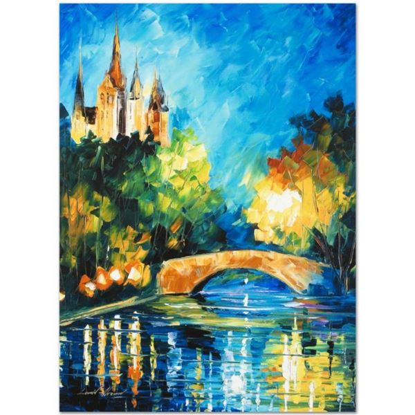 "Leonid Afremov (1955-2019) ""Perfect Night"" Limited Edition Giclee on Canvas, Num"