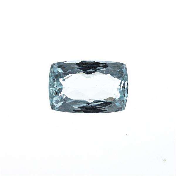 8.06 ct. Natural Cushion Cut Aquamarine