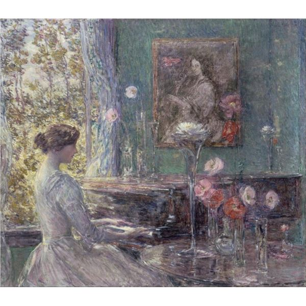 Childe Hassam - Improvisation