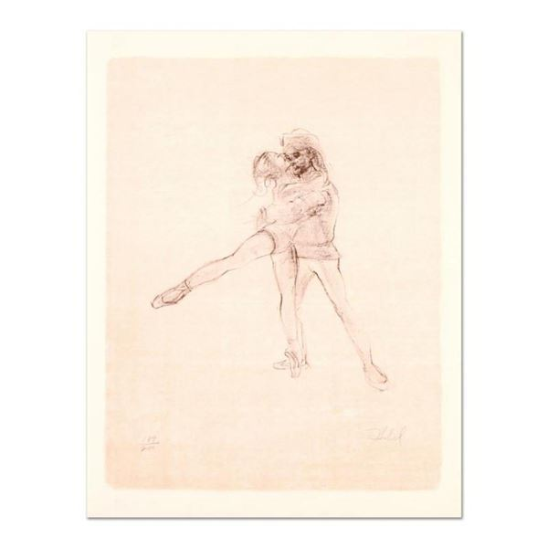 "Edna Hibel (1917-2014), ""Pas De Deux"" Limited Edition Lithograph, Numbered and H"