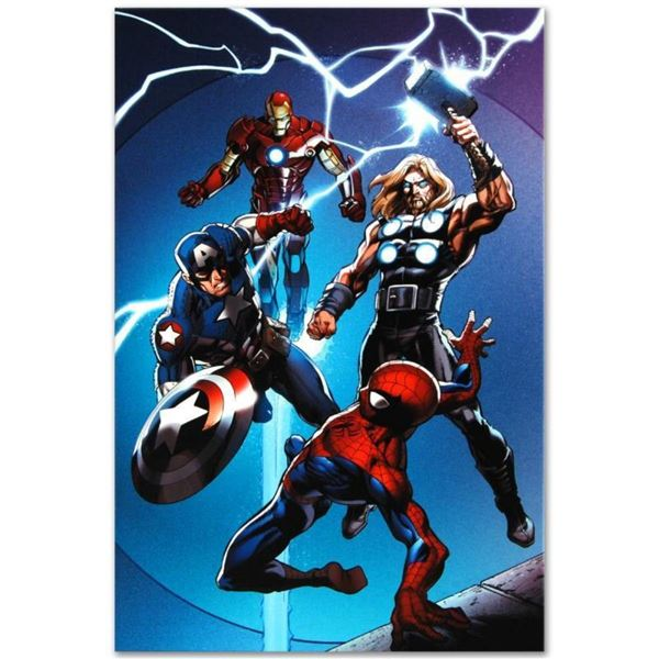 "Marvel Comics ""Ultimate Spider-Man #157"" Numbered Limited Edition Giclee on Canv"