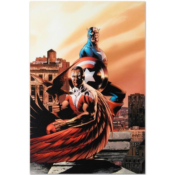 "Marvel Comics ""Captain America & The Falcon #5"" Numbered Limited Edition Giclee"