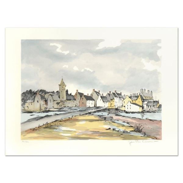 """Laurant, """"Honfleur"""" Limited Edition Lithograph, Numbered and Hand Signed."""