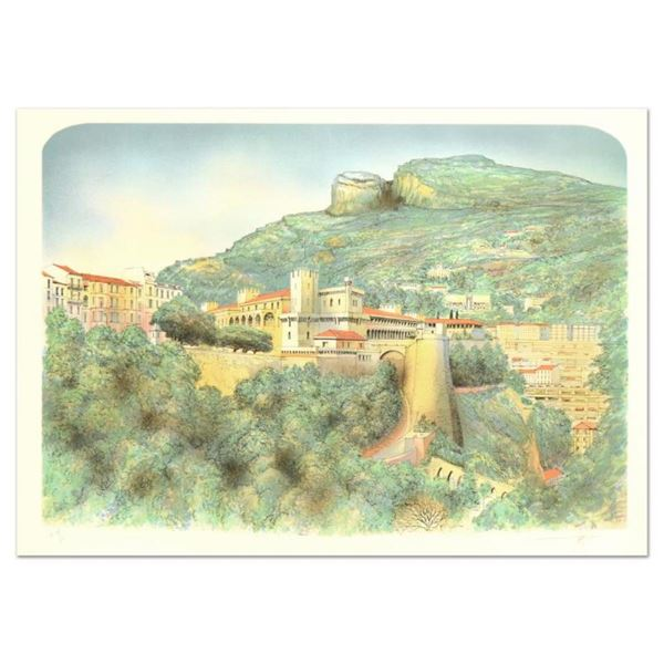 """Rolf Rafflewski, """"Monaco"""" Limited Edition Lithograph, Numbered and Hand Signed."""