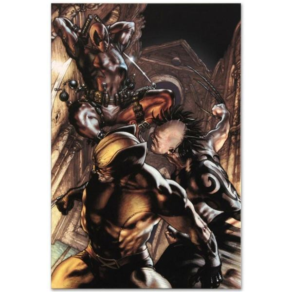 """Marvel Comics """"Wolverine: Origins #25"""" Numbered Limited Edition Giclee on Canvas"""