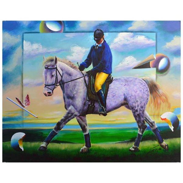 Purple Horse by Ferjo Original