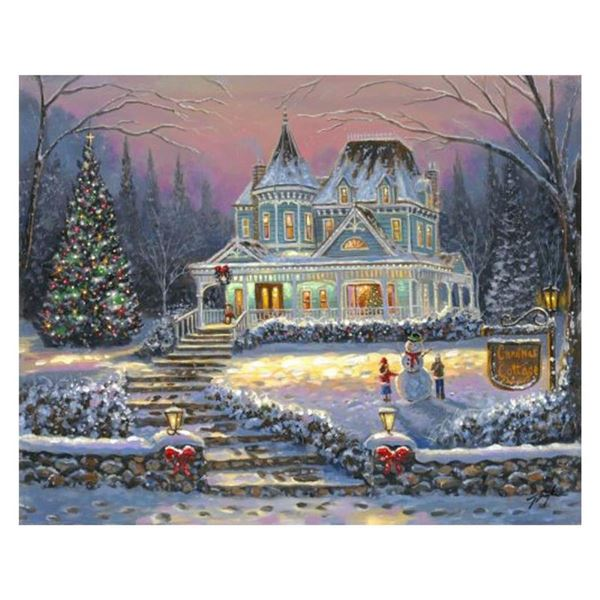 Christmas Cottage by Finale, Robert