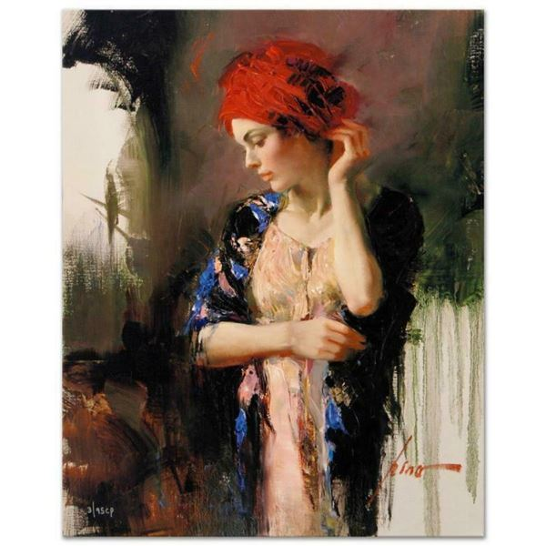 """Pino (1939-2010), """"Harmony"""" Artist Embellished Limited Edition on Canvas, CP Num"""