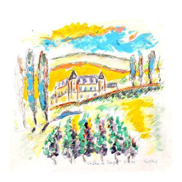 Chateau Clos de Vougeot, Burgundy by Ensrud Original