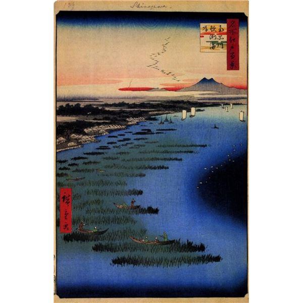 Hiroshige Samezu Coast