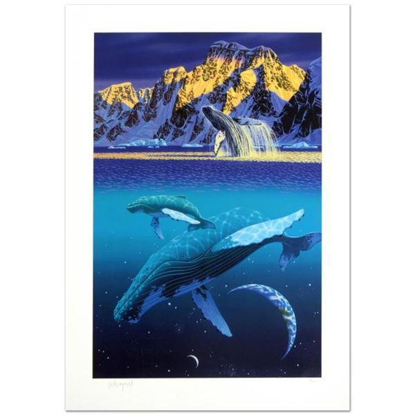 """""""The Humpback's World"""" Limited Edition Serigraph by William Schimmel, Numbered a"""