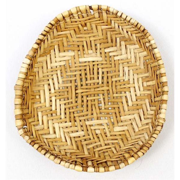 Native American Hopi 2-Toned Sifter Basket