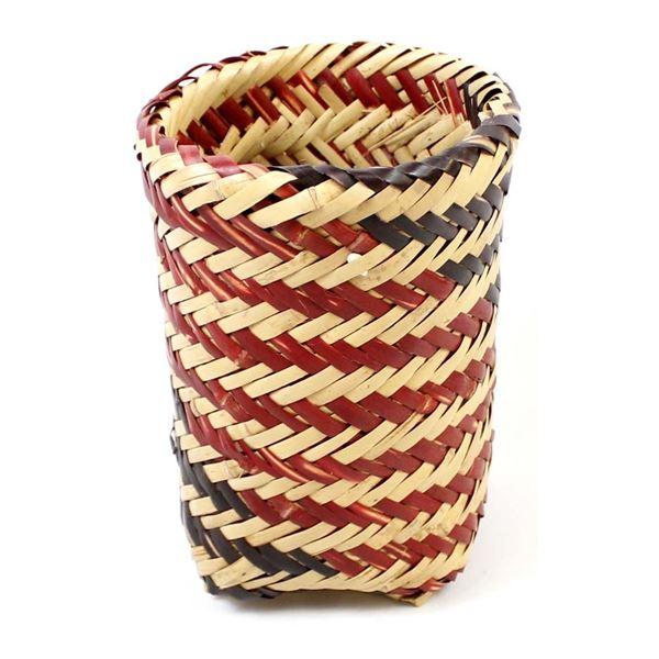 Native American Cherokee Double Weave Basket