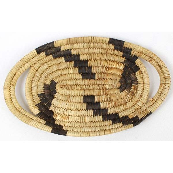 Vintage Native American Tohono O'odham Basket