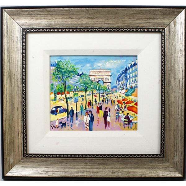 Original Jean-Claude Picot Painting on Canvas