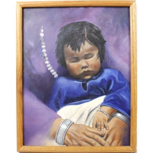 Original Acrylic Painting by Fleming Namaste