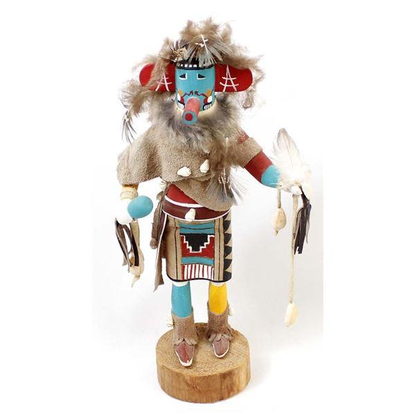 Navajo Morning Singing Kachina by D. Livingston