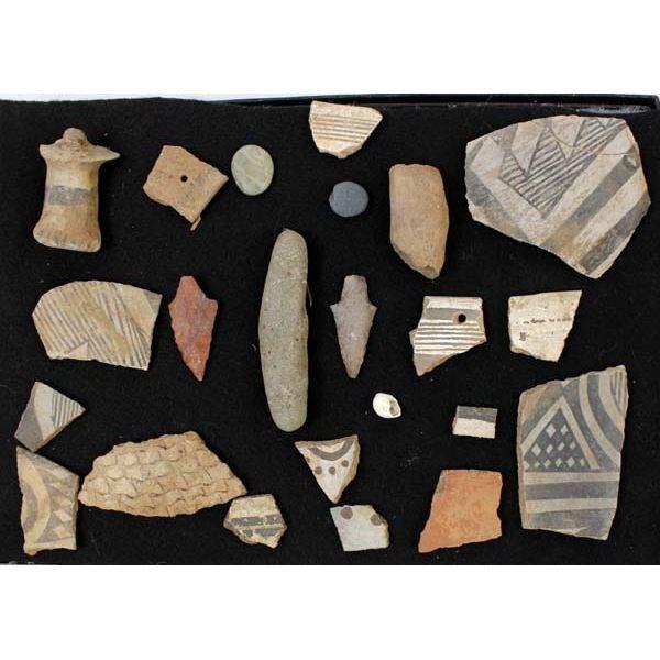 Prehistoric Native American Pottery Sherds Plus