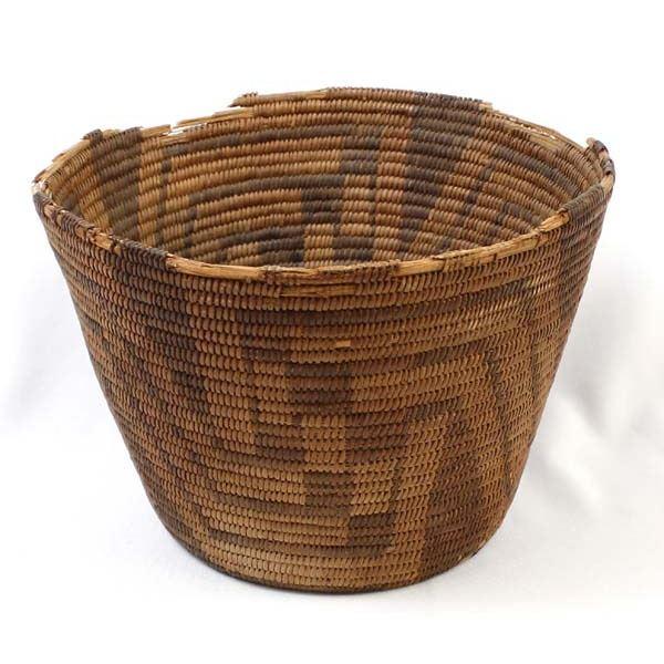 Antique Native American Pima Storage Basket