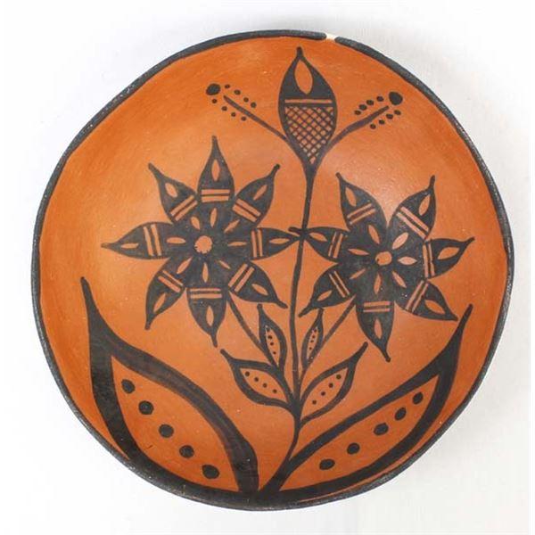 Large Santo Domingo Pottery Dough Bowl by Garcia