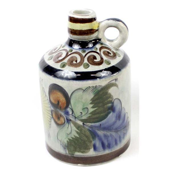 Mexican Glazed Pottery Jug