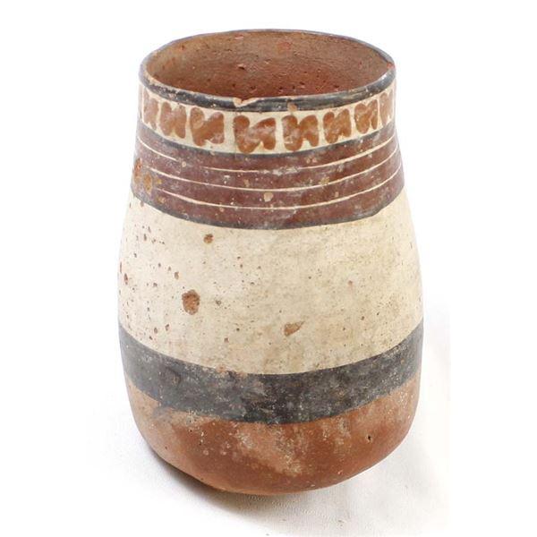 PreColumbian Nazca Peru Pottery Vessel