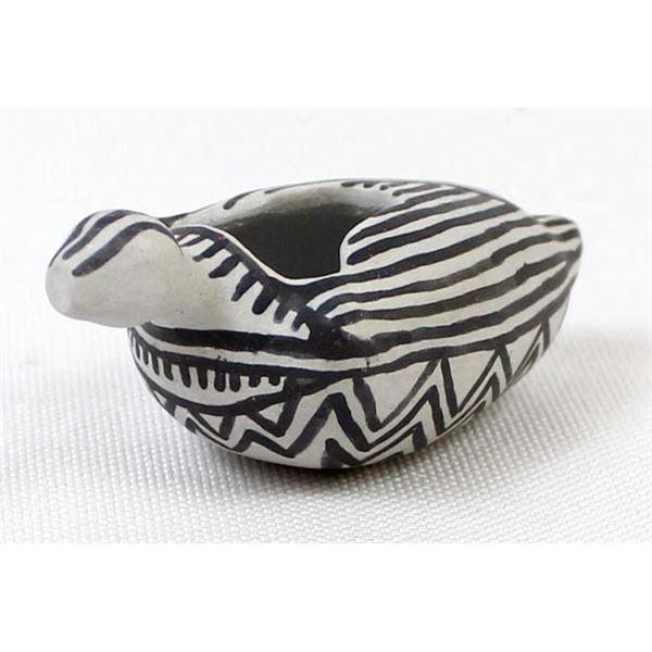 Anasazi Miniature Pottery Duck Effigy Replica
