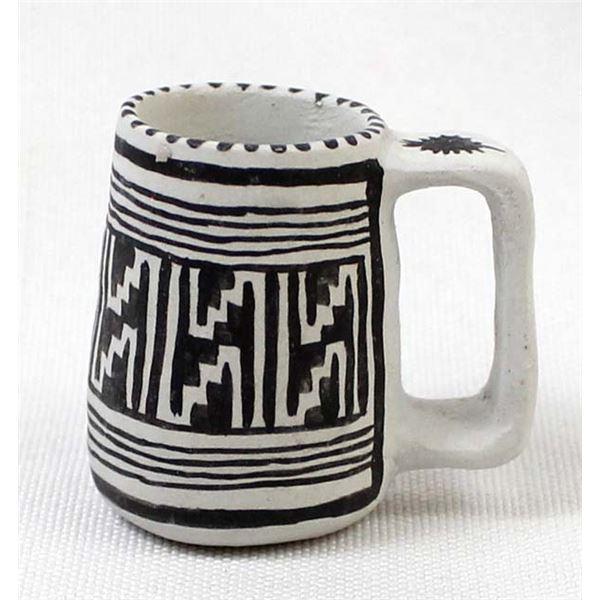 Anasazi Miniature Pottery Cup Replica