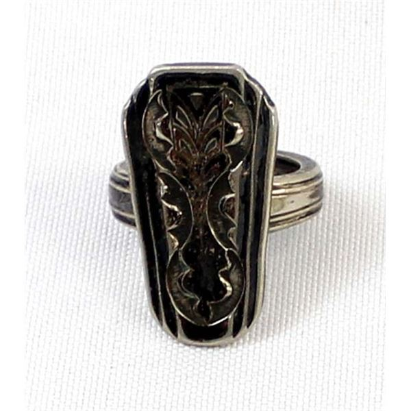 William Rogers International Silver Spoon Ring