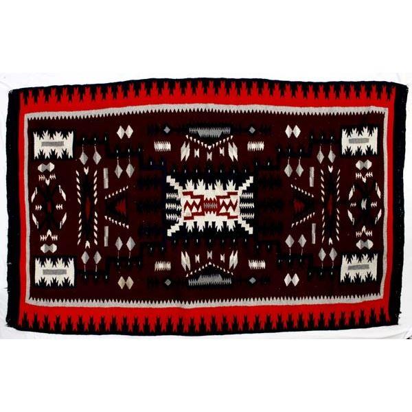 Large Vintage Mexican Textile Rug
