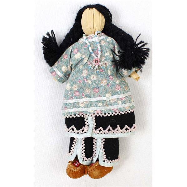 Mohawk Cornhusk Doll by Angel Dixtater