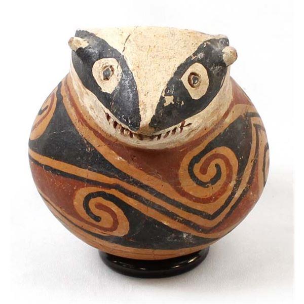 Casas Grandes Effigy Pottery Jar Replica