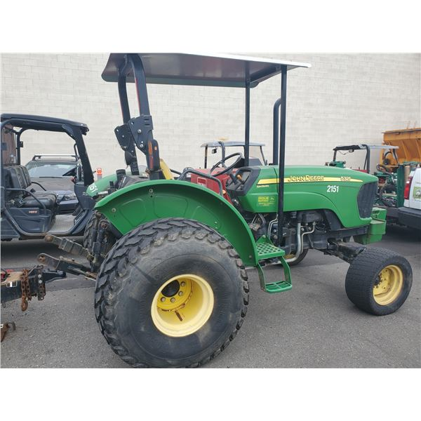 2006 JOHN DEERE 5325 SYNC SHUTTLE TRACTOR, GREEN, 798HOURS *HOURS NOT VERIFIED*