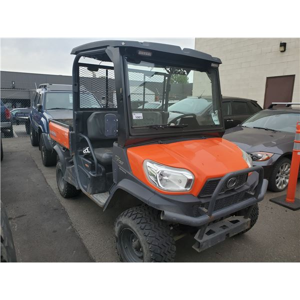 2014 KUBOTA RTV X900, RTV, ORANGE/BLACK, VIN # 14611