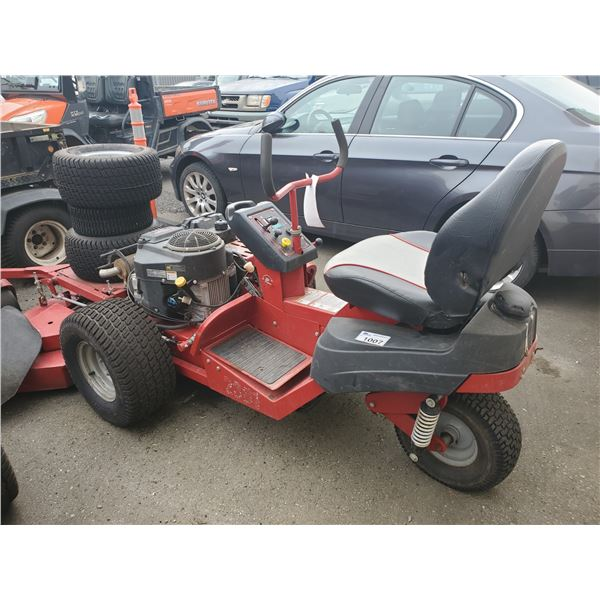 2015 FERRIS MOWER, GAS, RED, VIN # 2017045405