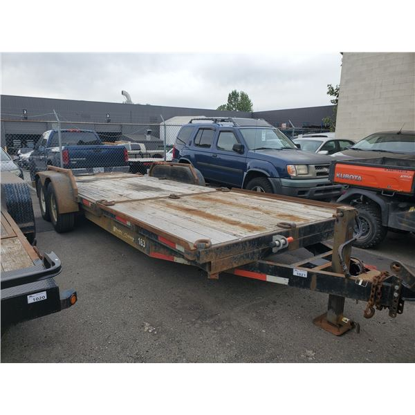 2007 DOUBLE R. 1 0198, TANDEM TRAILER, BLACK, VIN # 1D9BU212X7N451455