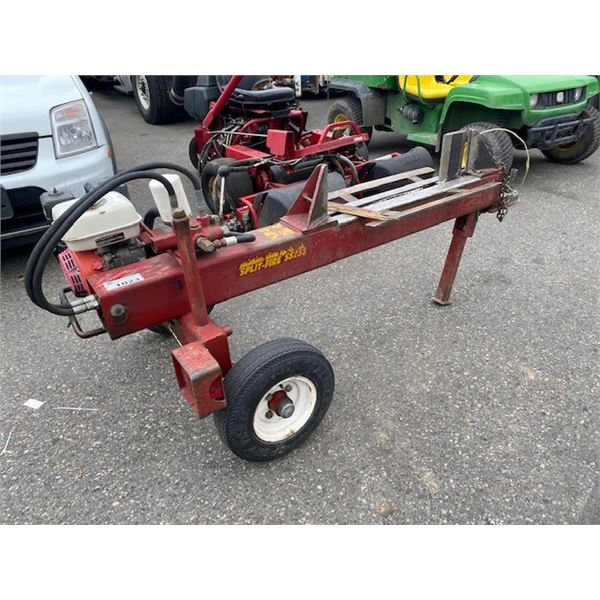 2000 SPLIT FIRE SS255 GAS LOG SPLITTER WITH HITCH, RED, VIN # 2S9111105Y1126075