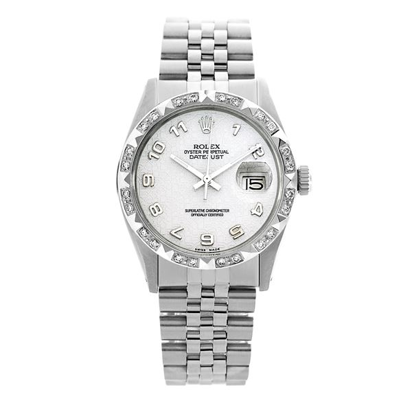 Rolex Pre-owned 36mm Mens Silver Jubilee Stainless Steel