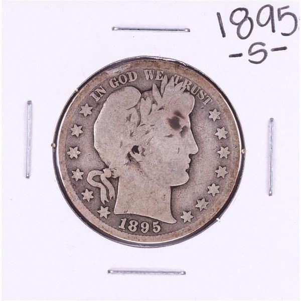 1895-S Barber Half Dollar Coin