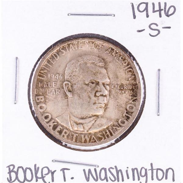 1946-S Booker T Washington Commemorative Half Dollar Coin