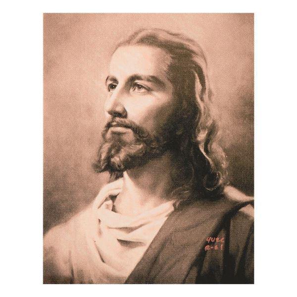 """Ringo Daniel Funes """"Jesus"""" Original Mixed Media on Canvas"""