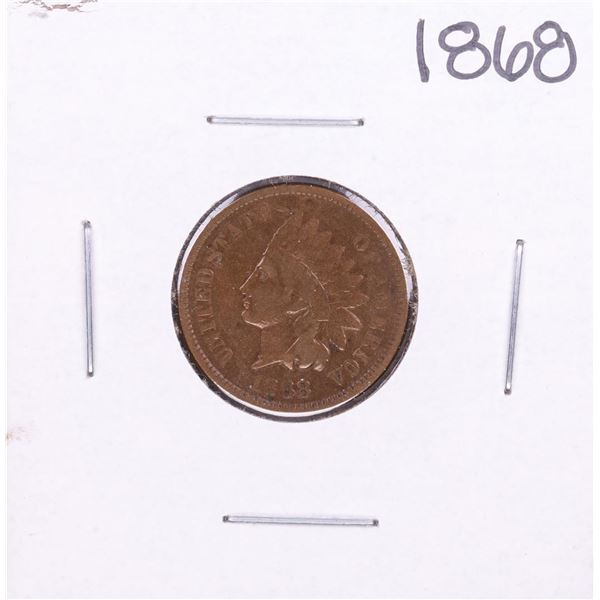 1868 Indian Head Cent Coin