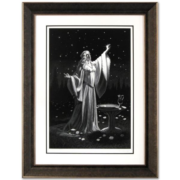 """Greg Hildebrandt """"Ring Of Galadriel"""" Limited Edition Giclee on Paper"""
